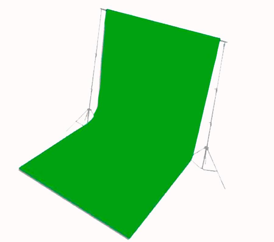Цвет хромакея зеленый