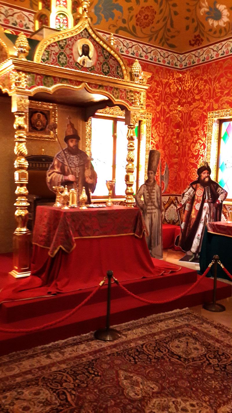 Дворец царя Алексея Михайловича Романова