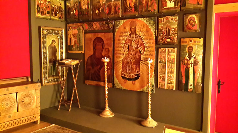 Дворец царя Алексея Михайловича Романова. Молельная комната