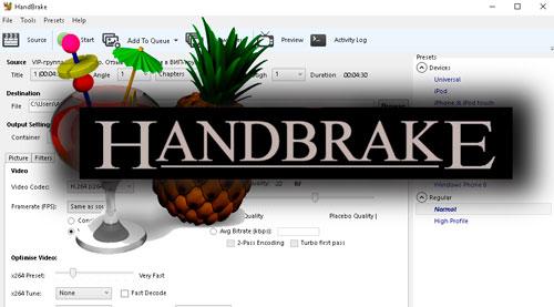 Handbrake - как сжать видео